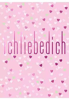 Postkarte Spruch Liebe Cityproducts Ich liebe Dich