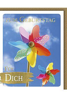 Glückwunschkarte Geburtstag Snapshot Windrad Zum Geburtstag für dich
