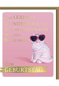 Geburtstagskarte für Frauen Snapshot Das Leben ist wundervoll