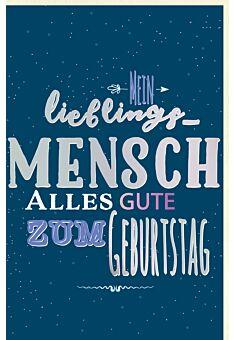 Glückwunschkarte Geburtstag Spruchkarte, mit schimmerndem Farbeffekt