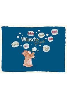 Postkarte Spruch Wünsche für Dich Erfolg Glück Liebe