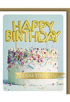 Glückwunschkarte Geburtstag Snapshot Happy Birthday tooo yooo