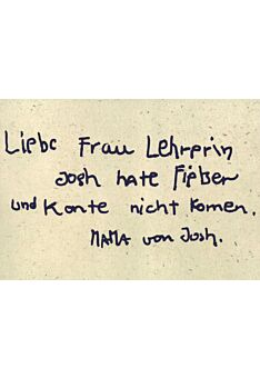 Postkarte witzig Spruch Liebe Frau Lehrerin
