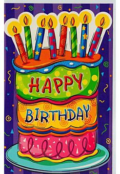Kindergeburtstagskarte Happy Birthday