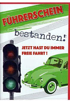 Karte Führerschein: Führerschein bestanden!