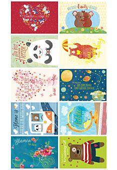 10er Postkarten Set Liebe Gutsch PAPELINO