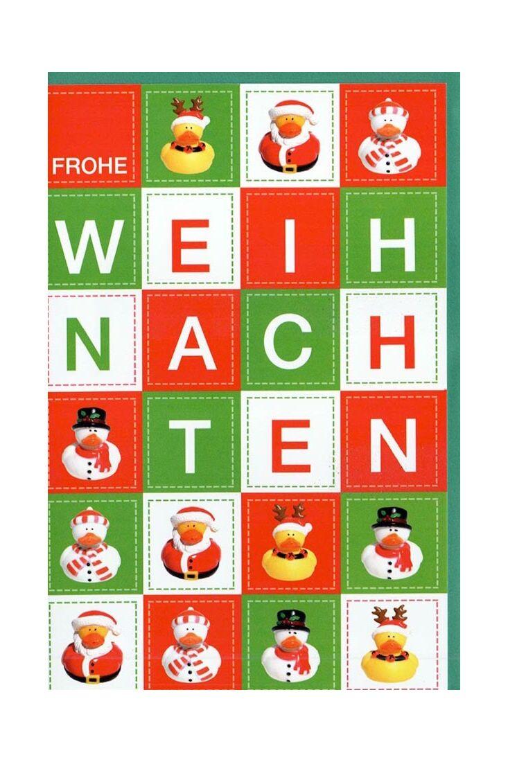 Weihnachtsgrußkarten Weihnachtskarte modern originelle Weihnachtsenten