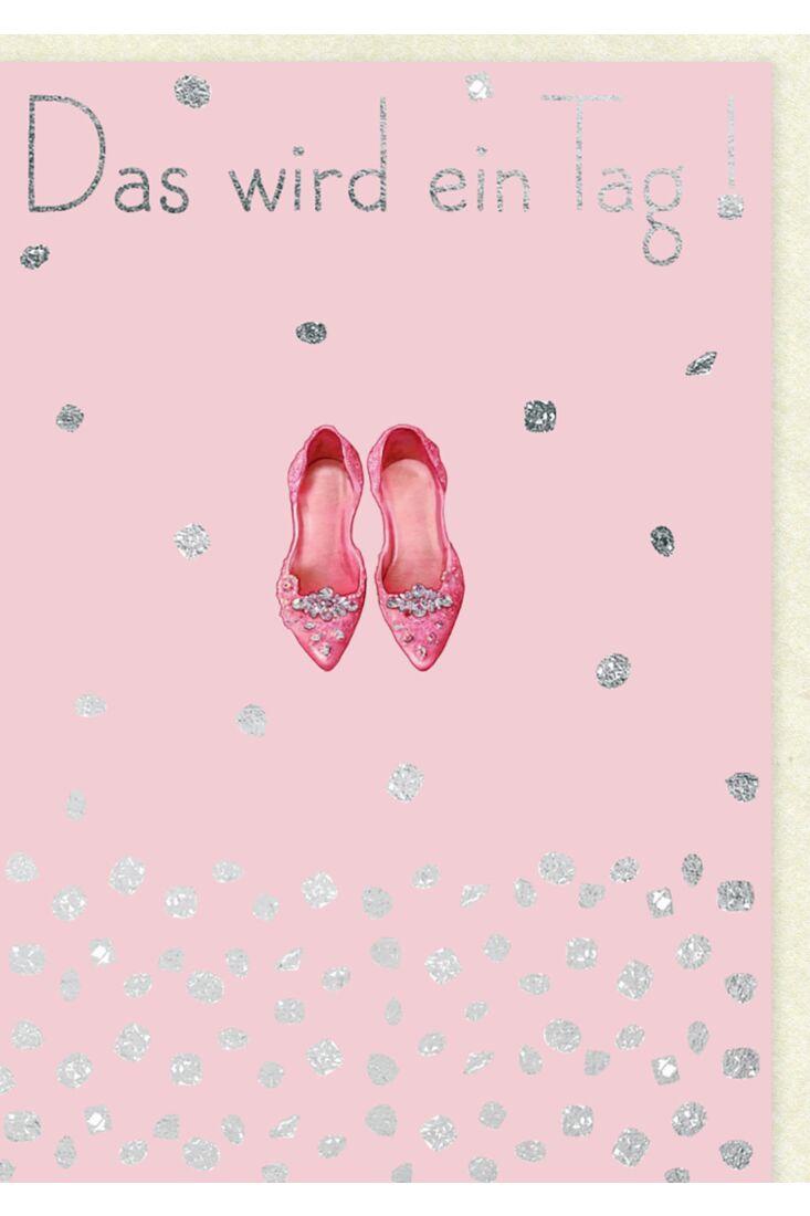 Geburtstagskarte für Frauen Das wird ein Tag!