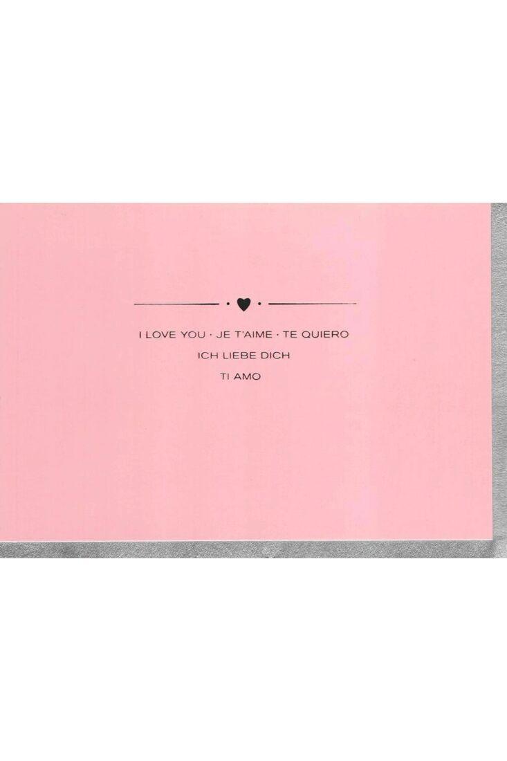 Valentinstag Karten Grußkarte Valentinstag premium Ti Amo
