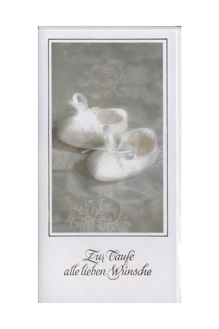 Glückwunschkarte zur Taufe:
