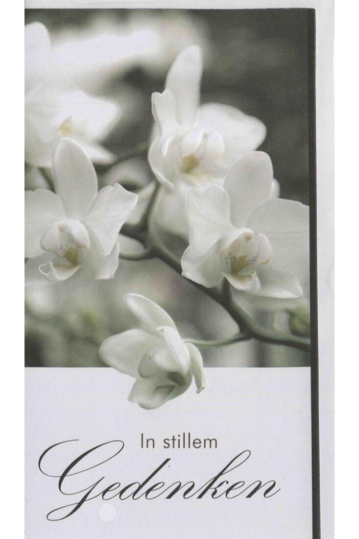 Trauerkarte mit Spruch In stillem Gedenken