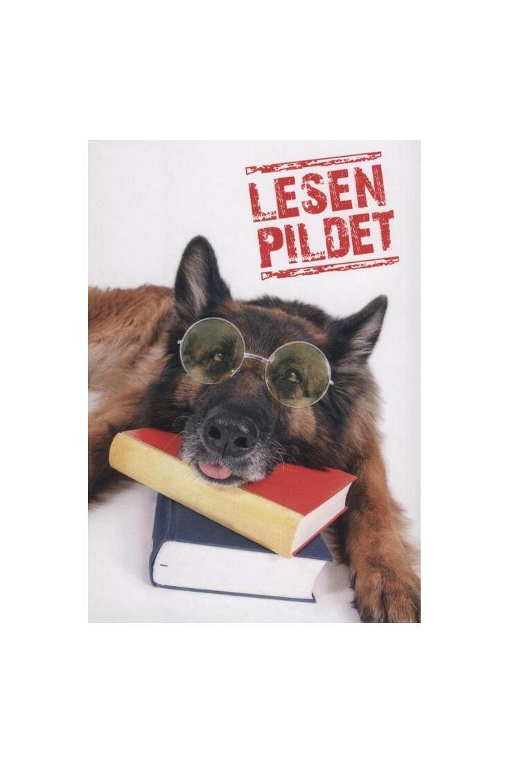 Postkarte Hund lustig: