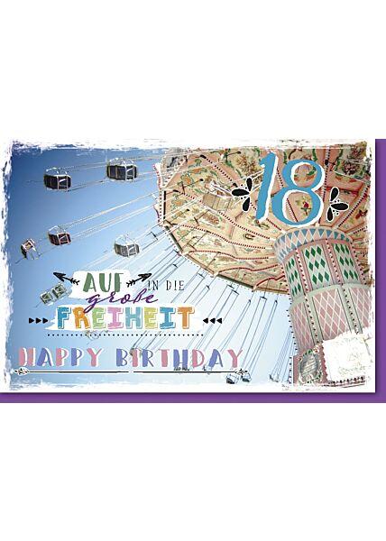 18.Geburtstagskarte, Kettenkarussell
