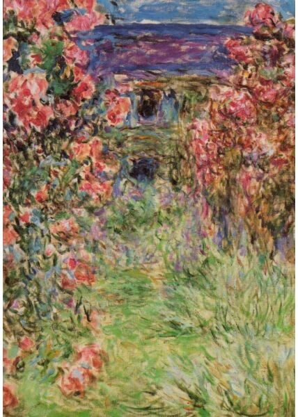 Kunst Postkarte Claude Monet - 1920