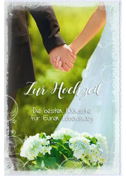 Glückwunschkarte Hochzeit Für Euren Lebensweg