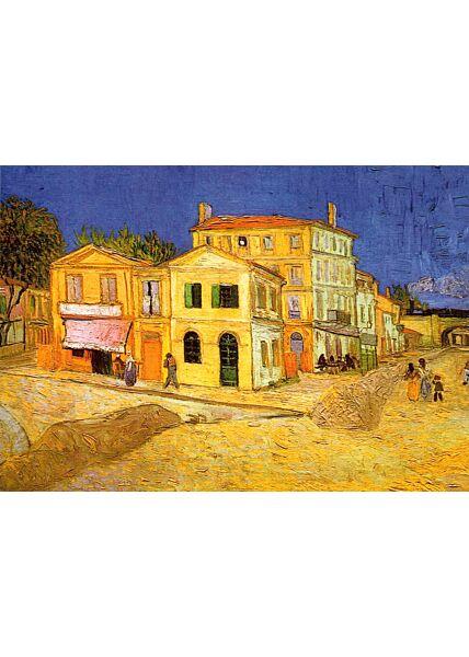 Kunstkarte Vincent van Gogh - Das gelbe Haus