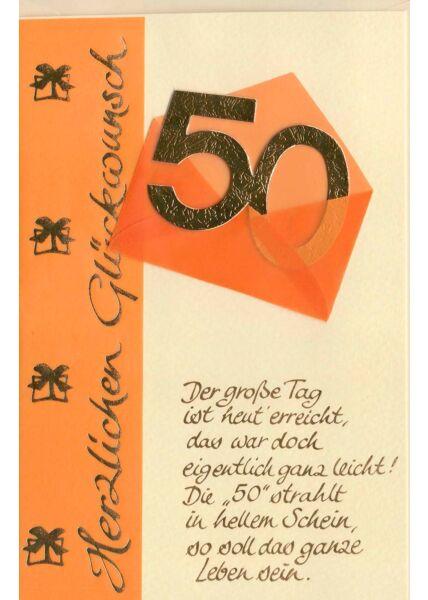 Glückwunschkarte 60 Geburtstag Der große Tag ist heute erreicht