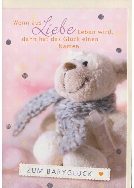 Geburtenkarte Baby: Wenn aus Liebe Leben wird...