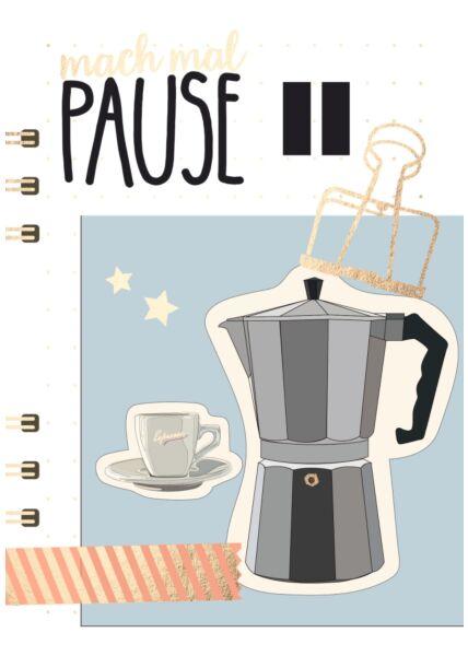 Postkarte Spruch Mach mal Pause
