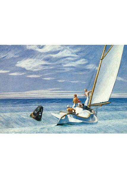 Kunstkarte Edward Hopper - Ground Swell Seegang Houle