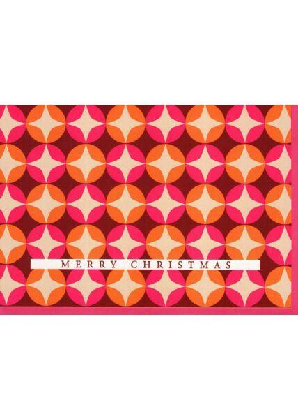 Weihnachtsgrußkarten Weihnachtskarte Design modern Sterne Merry Christmas