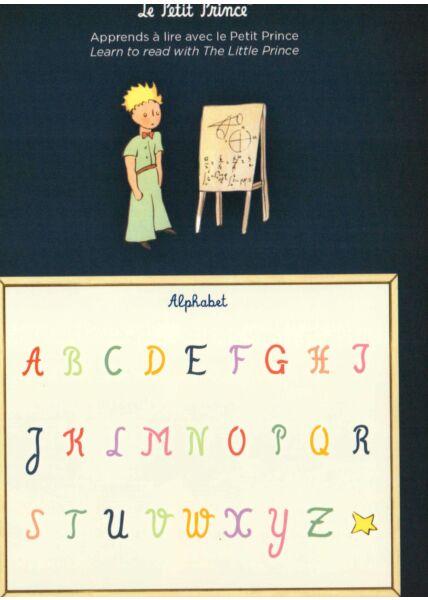 Postkarte Der kleine Prinz Apprends a compter avec le...