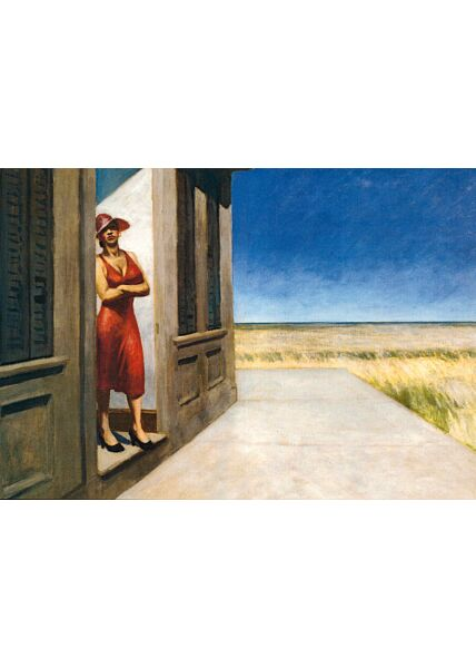 Kunstkarte Edward Hopper - South Carolina Morning