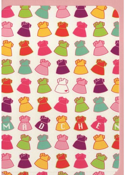 Glückwunschkarten Geburt Mädchen Glückwunschkarte Geburt Mädchen rosa