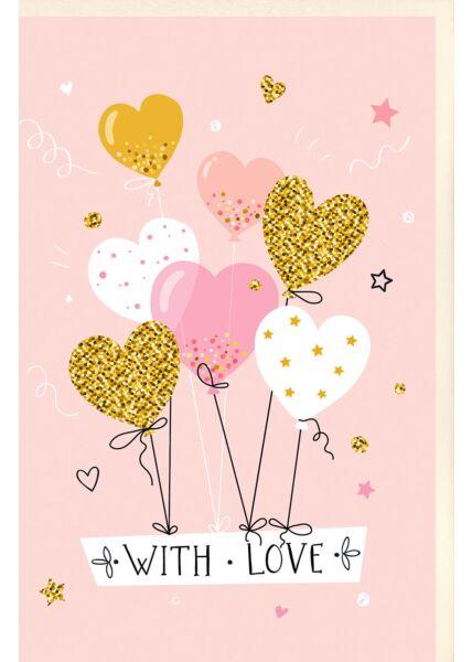 Glückwunschkarte Frau With Love