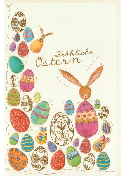 Karte Ostern Föhliche Ostern