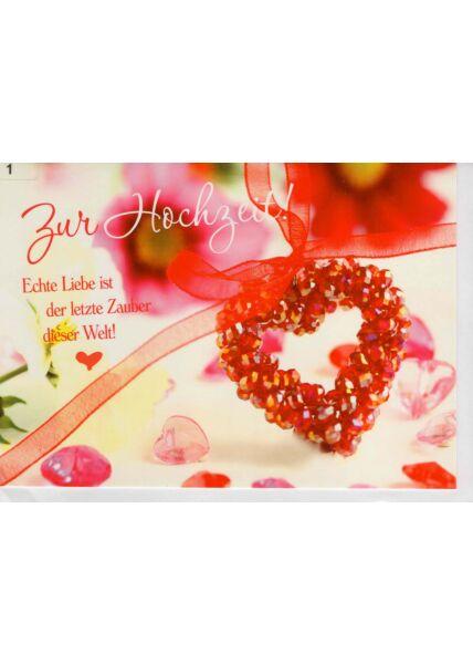 Hochzeitskarte Spruch Echte Liebe