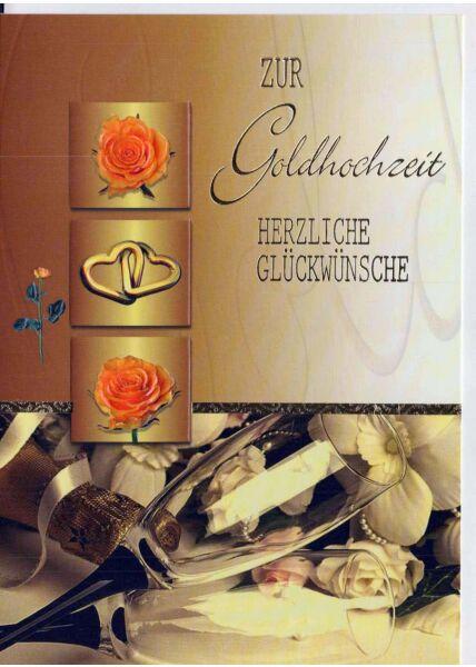 Gluckwunsche Zur Goldenen Hochzeit Formulieren Grusskartenladen De