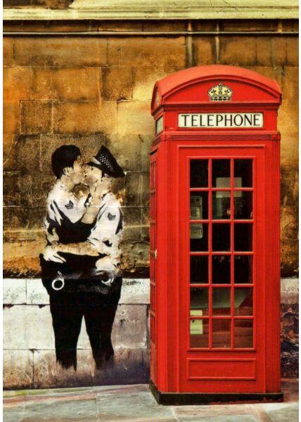 Kunstpostkarte Street Art Postboc