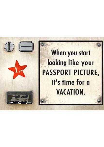 Postkarte Spruch englisch When you start ....