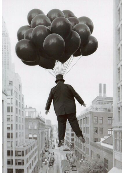 Nostalgie Retro Postkarte Big Boss over New York