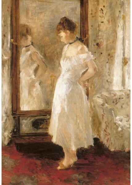 Kunst Postkarte Berthe Morisot - The Psyche Mirror