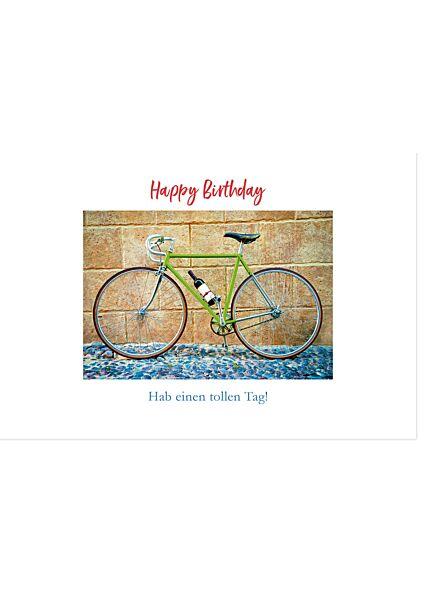Geburtstagskarte für Männer Hab einen tollen Tag Gutsch