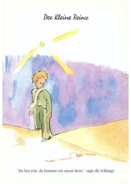 Postkarte Der kleine Prinz Du bist rein, du bekommst...