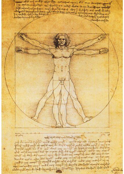 Kunstkarte Leonardo da Vinci