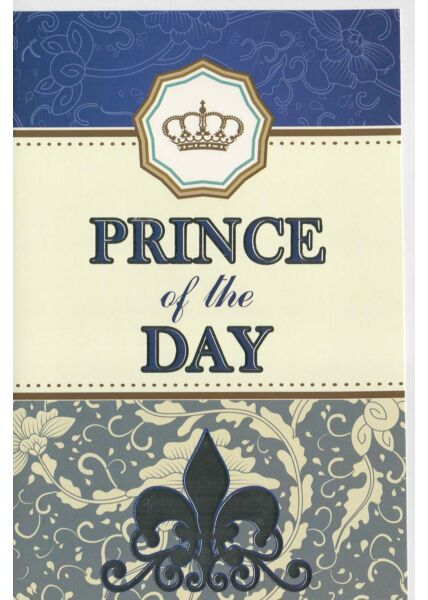 Geburtstagskarte Prince of the Day