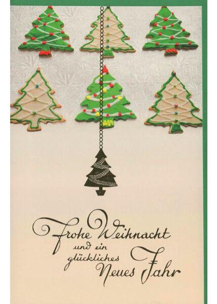 Weihnachtsgrußkarten Weihnachtskartese Weihnachtsbäume