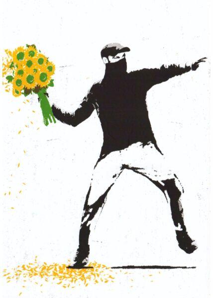 Kunstpostkarte Time for a Change