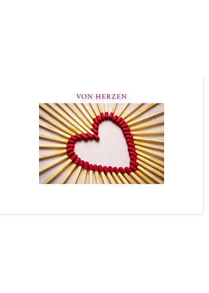 Grußkarten Von Herzen Gutsch