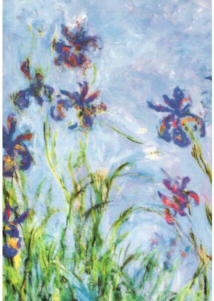 Kunst Postkarte Claude Monet ,1914-1917