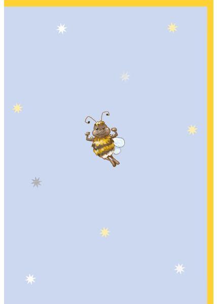 Glückwunschkarte Geburtstag Super-Hummel