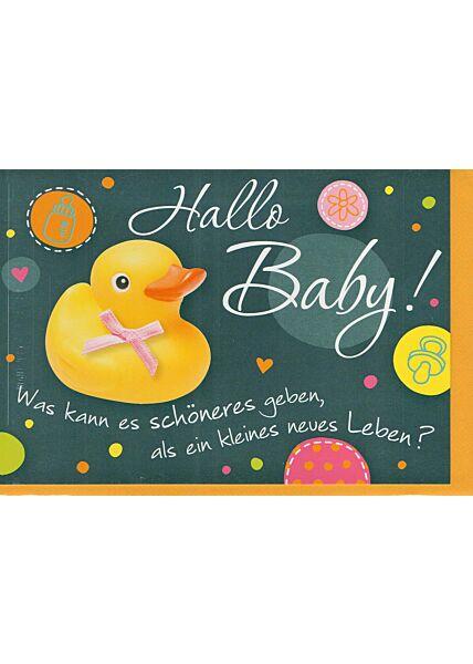 Geburtenkarte Baby: Was kann es schöneres geben...