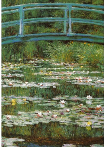 Kunstkarte Claude Monet - The Japanese Footbridge