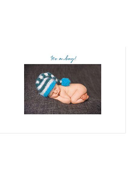 Glückwunschkarte Geburt Jungen It's a boy! Gutsch