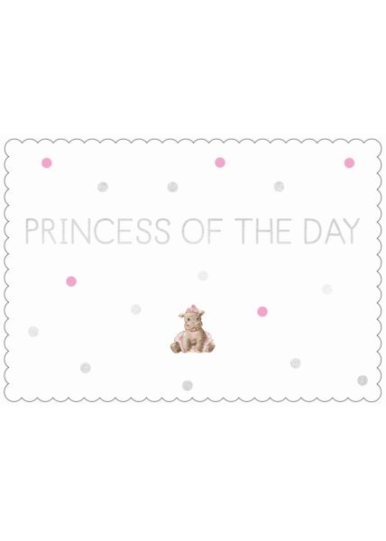 Postkarte Spruch Freundschaft Cityproducts Princess of the Day