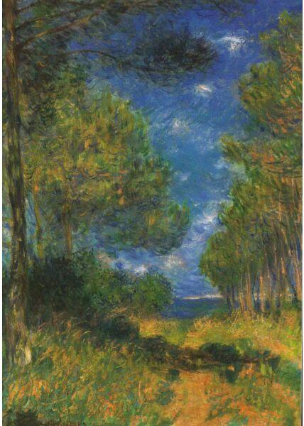 Kunst Postkarte Claude Monet - 1882